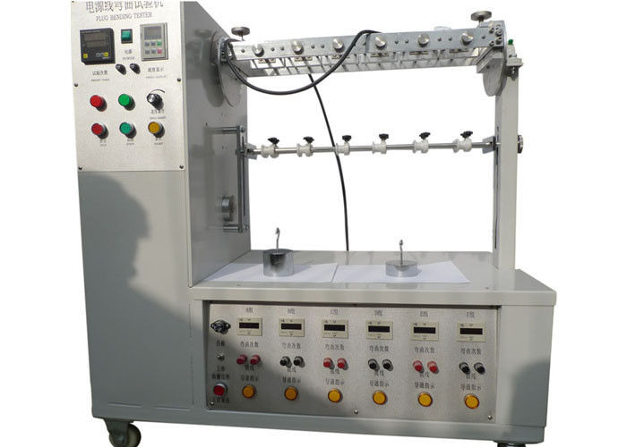 IEC60884-1 Figure 21 Plug Cord Flexing Testing Machine / Apparatus For Flexing Test